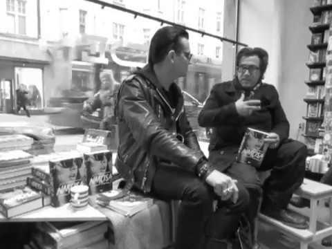 Jyrki Linnankivi & Jonathan Shaw at Nide bookstore 3 Helsinki