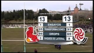 Mejores jugadas de España-Georgia Rugby