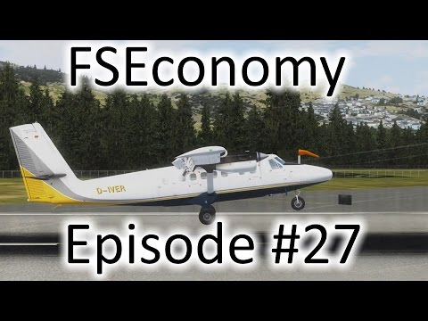 FSX | FSEconomy - Ep. #27 - Some Great Twin Otter Action | D