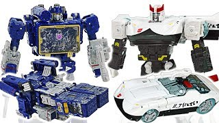 Transformers War for Cybertron: Siege! Prowl VS Soundwave! #DuDuPopTOY
