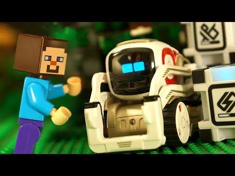 ДРУГ для ЛЕГО НУБика Майнкрафт Мультики LEGO Minecraft - Видео Мультфильмы для Детей