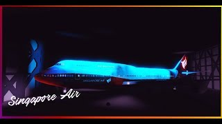 [ROBLOX] Singapore Air 747-8 Reveal