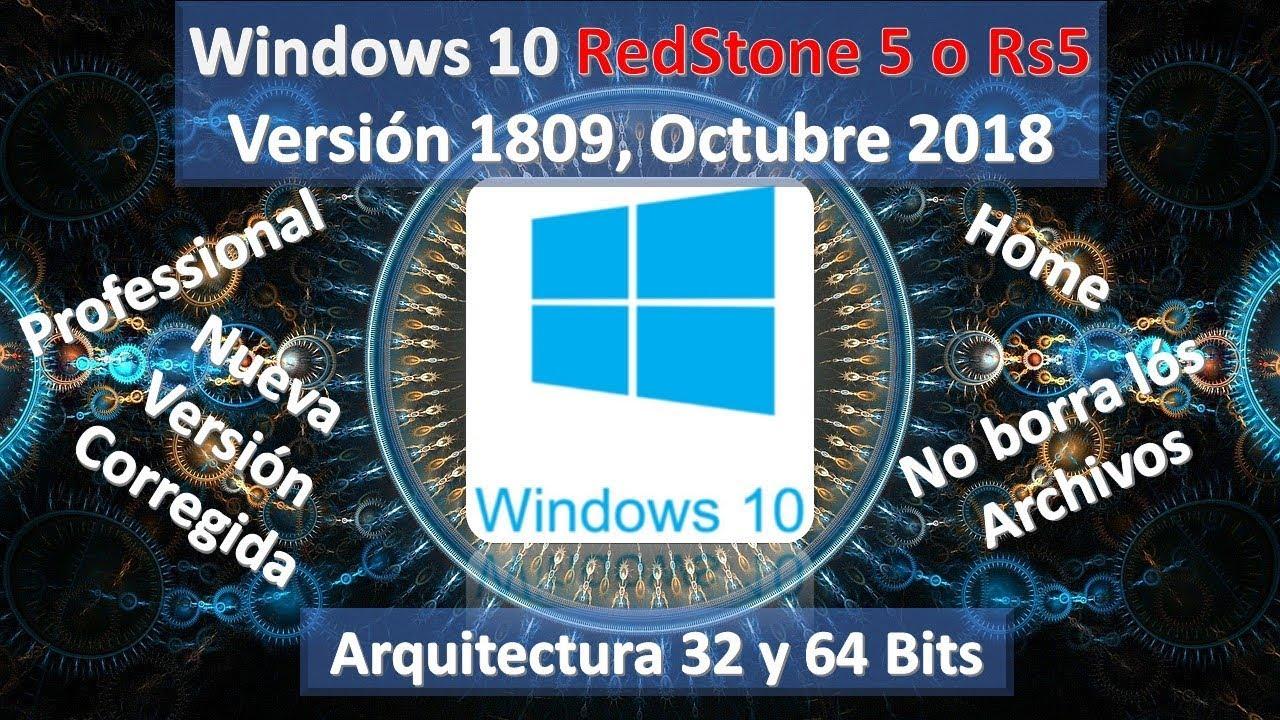 Descargar e instalar Windows 10 Pro 64 y 32 b…