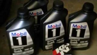 Quick Oil change on my GSX-R 600 & small updates on the Truck.wmv