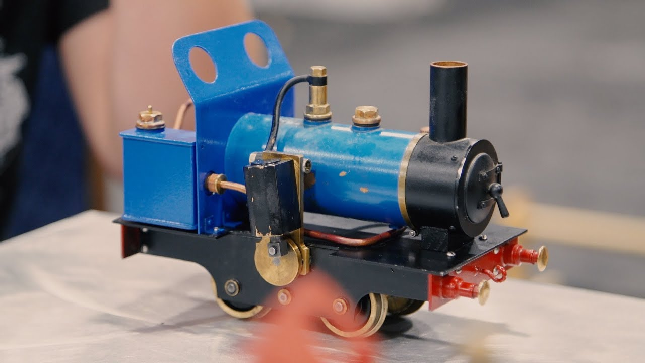 Scratch-Built Model Steam Trains!