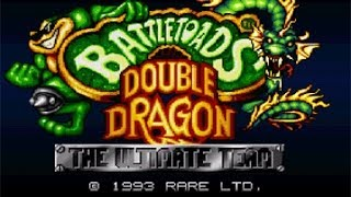 Battletoads Double Dragon SNES 28 10 SpeedRun NoDeath
