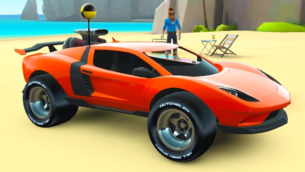 МАШИНКИ MMX Hill Dash 2 – Гонки по бездорожью #1 мультик игра для детей про гонки и круты тачки #МК
