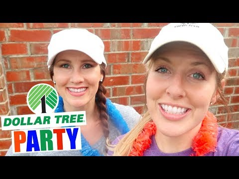 How To Plan A Dollar Tree LUAU Party! The BEST Things To Buy At The Dollar Tree To Plan A Party!