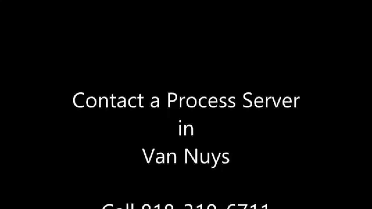 Process Server Los Angeles   Registered Process Server in