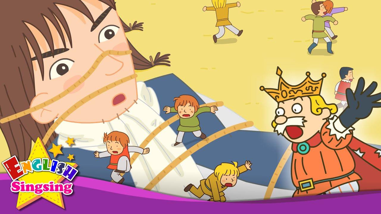 Resultado de imagen de Gulliver's Travels - What's this? Nose Mouth (this & that) - English story for Kids