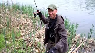 Рыбалка на спиннинг 24 25 04 2021 Разведка новых мест 3 Часть 2 Щуки не перестают клевать