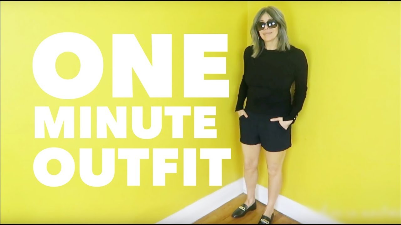 7a3ef9bff ONE MINUTE OUTFIT #5 FOR WOMEN OVER 50 | Rocking Fashion & Life in my 50's