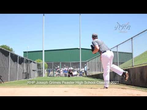 RHP Joseph Grimes Peaster High School Class of 2021
