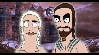 """""""Game Of Thrones"""" Drawn In """"Bob's Burgers"""" Style"""