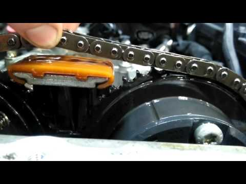 W203 C180 kompressor M271 timing chain