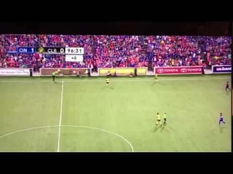 FC Cincinnati beats MLS Columbus Crew