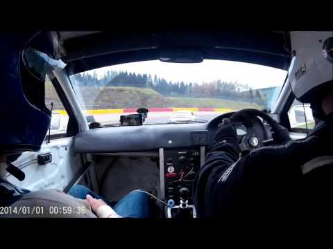 Spa Session 3 16/10/2015 Subaru Impreza type R 2.35 gt35 running 1.4 bar of boost