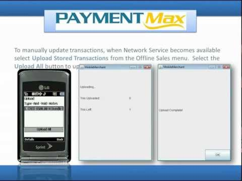 Paymentmax Credit Card Processing iPhone Android Droid Blackberry