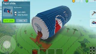 Dropped Pepsi Can - Block Craft 3d: Building Simulator Games for Free screenshot 4