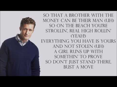 Glee 1x08 - Bust a Move [with lyrics]