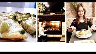 VLOG: Завтрак за 5 минут Омлет с брокколи * Семейный ресторан