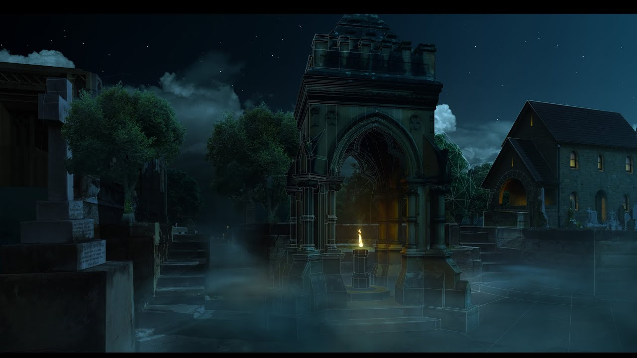 Advanced 3d matte painting techniques with garrett fry for Matte painting