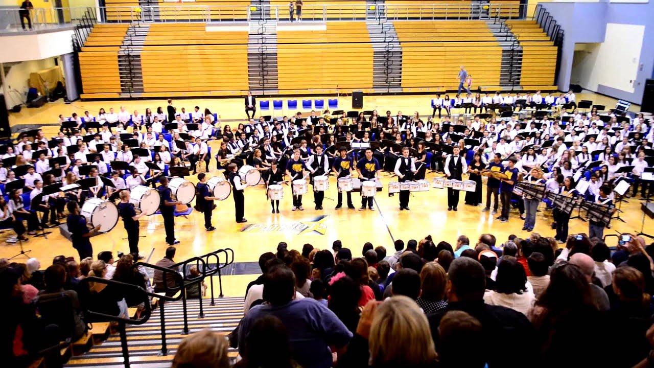 heritage high school drum line mega cadencemov youtube