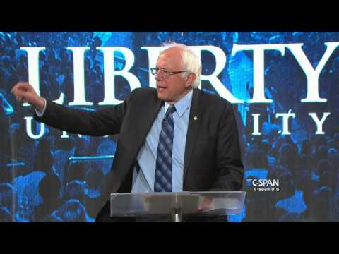 Bernie Sanders FULL SPEECH at Liberty University (C-SPAN)
