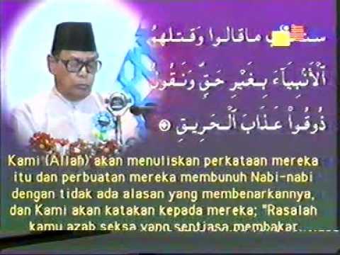the best qari Dato' ISMAIL HASHIM 1.MPG