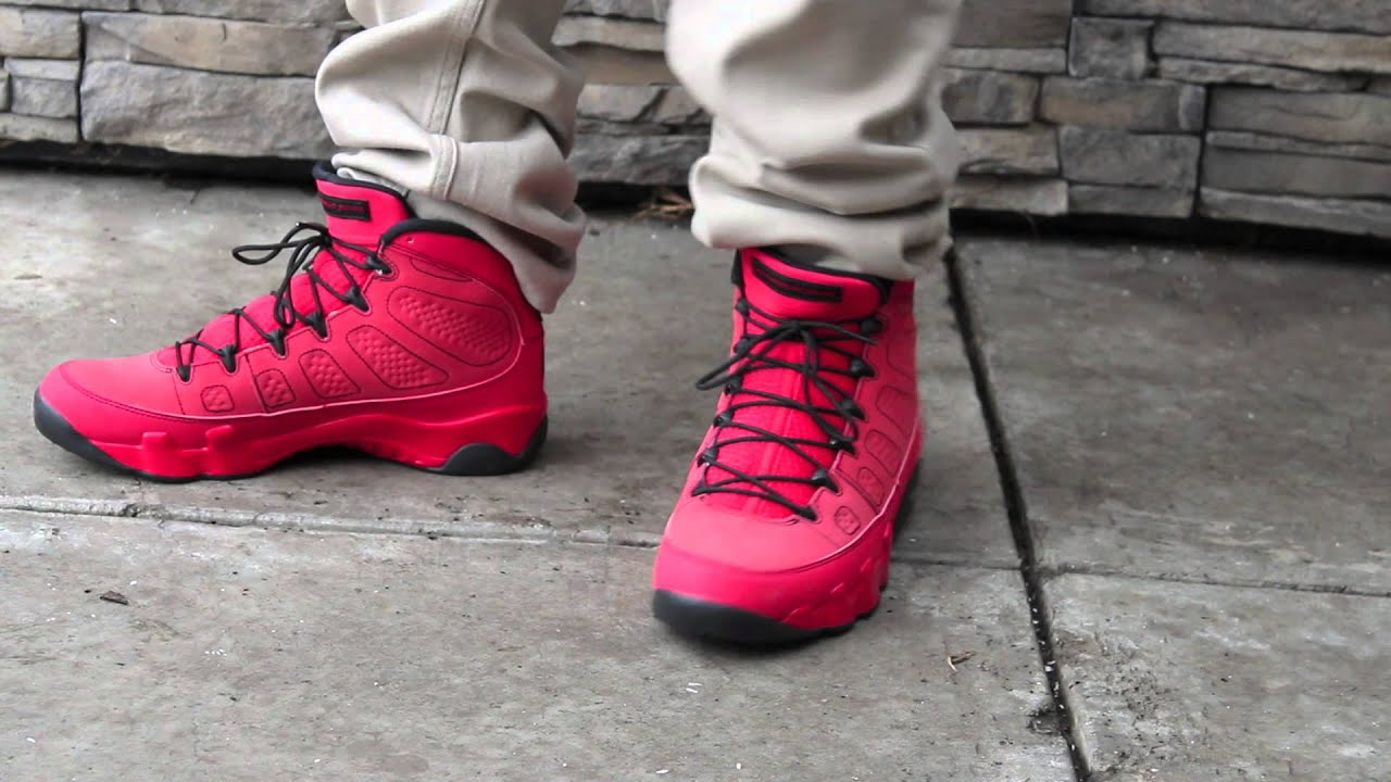 promo code 9721a 89859 ON FEET- Nike Air Jordan 9 Motorboat Jones [HD]