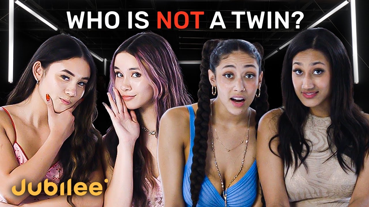 Download 6 Twins vs 1 Fake | Odd One Out