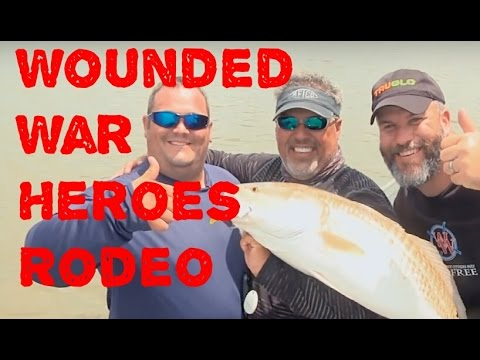 Venice 2016 Wounded War Heroes Rodeo on Castin' Cajun