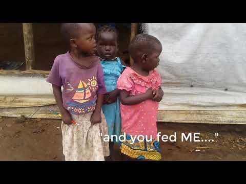 South Sudan Starving Children Feeding