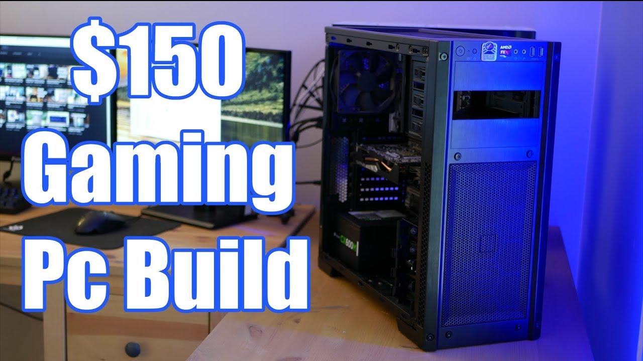 $150 Budget Gaming Pc Build | PUBG, GTAV, and more!