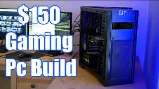 $150 Budget Gaming Pc Build | PUBG, GTAV, and more!