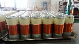 Alcohol selfbonding wire subwoofer voice coil winding machine (SS600V)