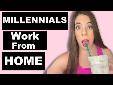 💥WORK FROM HOME FOR MILLENNIALS- Best Work From Home Jobs in 2020-Make Money Online- Remote Jobs