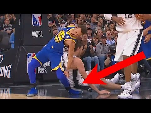 Thumbnail: Stephen Curry Scary Injury...Well Almost