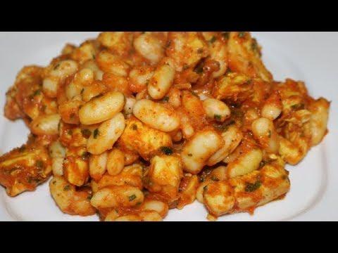 poulet-aux-haricots-diÉtÉtique-facile-(cuisinerapide)