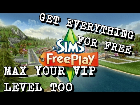Sims Freeplay hacked Realtime!!!! 30 jan 2017