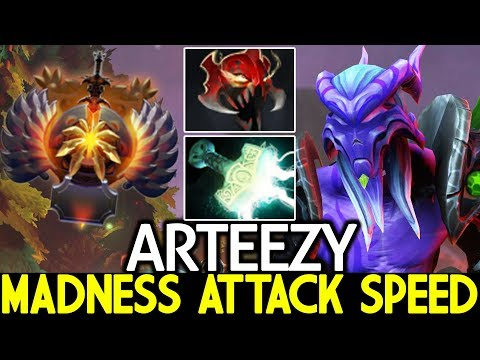 ARTEEZY [Faceless Void] Madness Attack Speed Build Imba Raid Boss 7.24 Dota 2