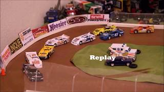 DIRT Nascar Stop Motion | Southern Minnesota Speedway | Spring Nationals