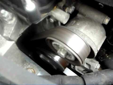 Mazda3 Tensioner Pulley Failing Youtube