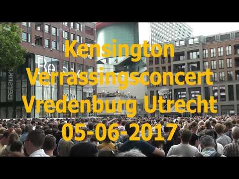 Kensington - Verrassingsconcert Vredenburg Utrecht 05-06-2017