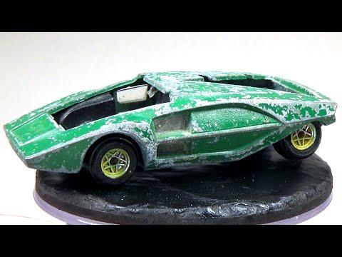 Restoring a Politoy Lancia Stratos HF Zero
