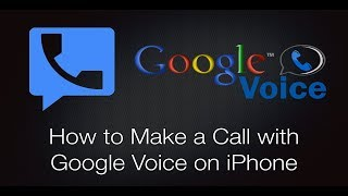 how to make a call with google voice on iphone
