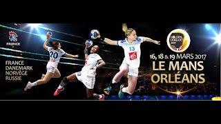 FRANCE VS RUSSIE GOLDEN LEAGUE Handball Orléans