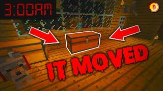 MINECRAFT HAUNTED HOUSE AT 3AM  (Ps3/Xbox360/PS4/XboxOne/WiiU) (SCARY)