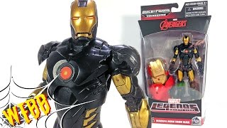 Marvel Legends Hulkbuster Series MARVEL NOW IRON MAN Action Figure Review