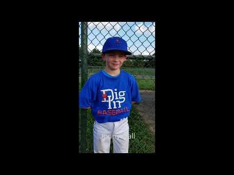 Player of the Game: Jonathan Hall, Dig In Baseball 10u